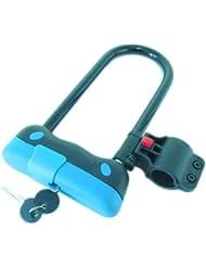 Filmer cerradura hierro llave, azul/negro, 43 116