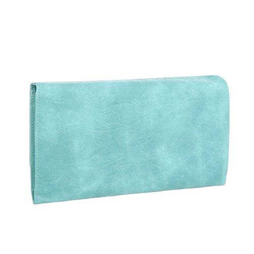 Taschen Used Optik Schultertasche Hellgrün