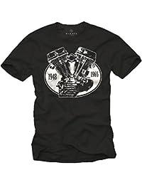 Biker T-Shirt PANHEAD Motorrad Chopper T-Shirts schwarz Größe S-XXXL