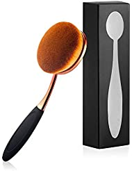 Yoseng Grand pinceau Ovale pour application maquillage liquide poudre ou crème