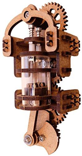 YouMake Viertaktmotor Bausatz / Verbrennungsmotor / Ottomotor / Lehrmittel / Lernspielzeug - Made in Germany! - Mit Montagewerkzeug!