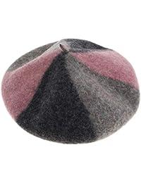 f648e900f1ca1 P Prettyia Sombrero de Mezcla de Lana Cálida Invierno Boina Francesa Beret  de Pintor Artista para