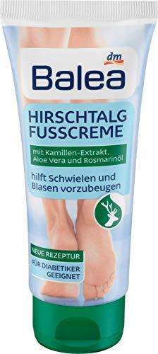 Balea Fußcreme Hirschtalg, 1 x 100 ml