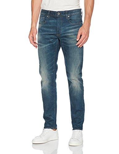 G-STAR RAW Herren Slim Jeans Blau (Medium Aged 071)