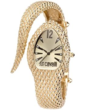Just Cavalli Damen-Armbanduhr POISON Analog Quarz Edelstahl R7253153517