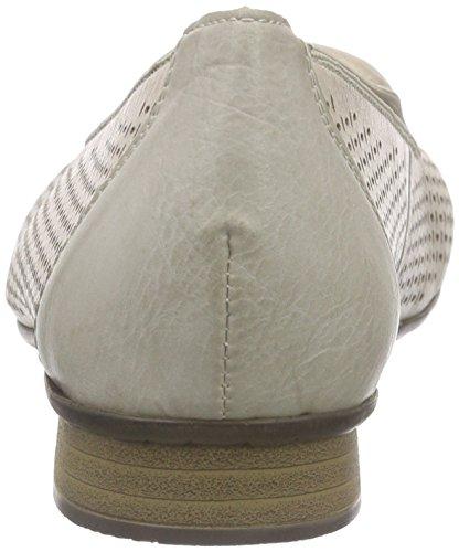 Rieker 51977 Women Loafers Damen Slipper Grau (cloud / 40)