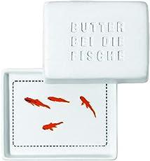 """Breakfast Butterdose, klein """"Butter bei die Fische"""""""
