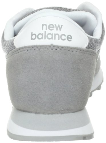 Sneaker New Balance Uomo ML501GGW CLASSICS TRADITIONNELS in pelle scamosciata Grey / Silver
