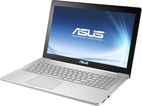 Asus N551JK-CN125H 39,6 cm (15,6 Zoll) Full HD Laptop (Intel Core i7 4710HQ, 2,5GHz, 16GB RAM, 256GB SSD, NVIDIA GeForce GTX 850M(4GB), Blu-ray, Win 8, Non Glare Display) silber (Asus I7-4700hq Notebooks)