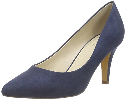 Another Pair of Shoes - Priscilaae, Scarpe col tacco Donna Blu (Blau (denim blue675))
