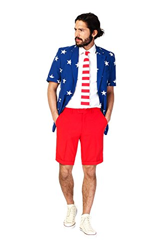 Stars and Stripes Anzug Summer Edition Opposuit