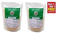 B&B Organics Basmati White Rice 500 Grams - Buy 1 GET 1 Free