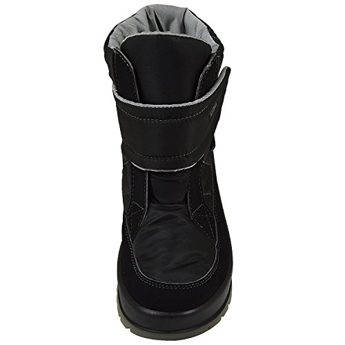 Manitu Polartex Damen Stiefel, Schneeboots schwarz 990852-1 schwarz