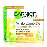 Garnier Skin Natural White Complete Multi Action Fairness Cream (18gm) - Pack Of 2