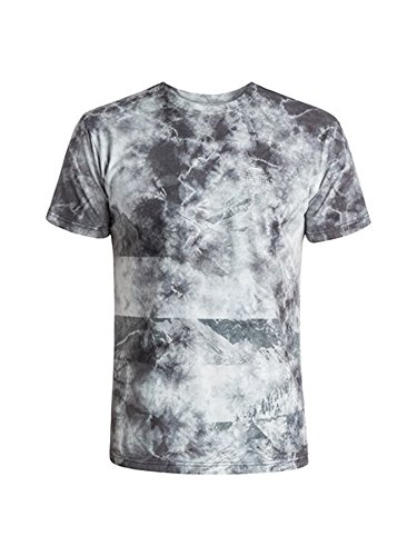 DC Mens Cloud Kick Short-Sleeve Shirt Antique White