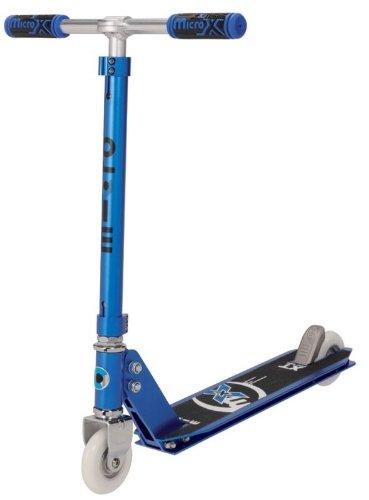 Unbekannt MICRO Scooter mx - park Profi-Stunt-Scooter, metallic blau