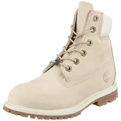 """Timberland 6"""" Premium Waterproof, Women's Boots, Cream, 3.5 UK"""