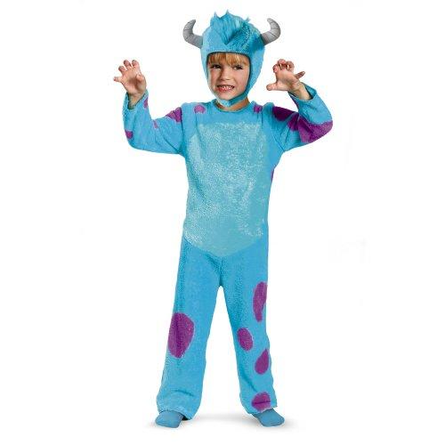 Disney Pixar Monsters University Sulley Toddler Classic Costume, -