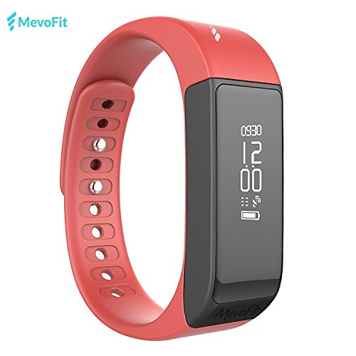 MevoFit Drive - Fitness Band & Activity Tracker by MevoFit (USA) – Water Proof & Scratch Proof Smart Watch that tracks Steps Running Sports Sleep Calories with most advanced Fitness App - MevoFit for Fitness Tracking for Android & iOS by MevoFit USA