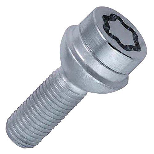 McGard 28017SU Standard - Tornillos antirrobo para ruedas (base esfér