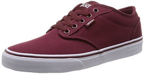 Vans Atwood - Sneakers da uomo, rosso (canvas/windsor wine/white), 42.5