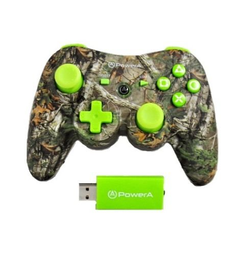 power-a-realtree-pro-wireless-controller-green-ps3