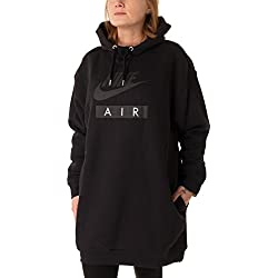 Nike Rally Pullover Femme Noir FR : S (Taille Fabricant : S-36/38)