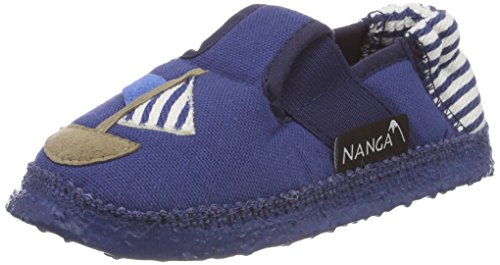Nanga Unisex-Kinder Seemann Hausschuhe, Blau, 24 EU