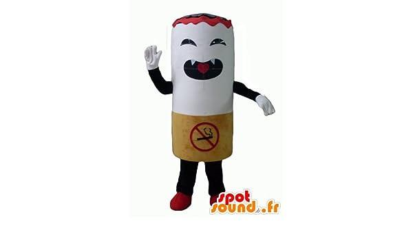 Mascot Spotsound Amazon Riesigen Zigarette Heftig Zu Schauen Amazon
