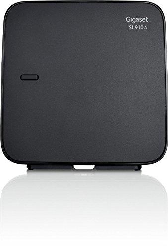 Gigaset SL910A / SL 910 A DECT Ersatz Basisstation analog mit Anrufbeantworter schwarz Basisstation