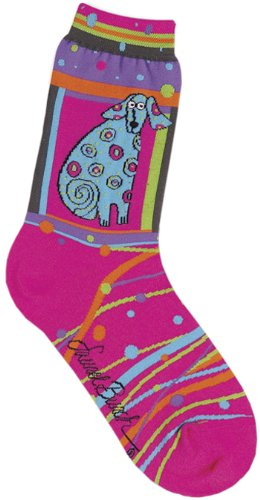 laurel-burch-laurel-burch-socks-matisse-magenta