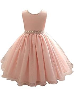 Topgrowth Neonata Vestito di Perline Principessa Formale Pageant Vacanza Nozze Vestito da Ragazza Abito da Ballo...