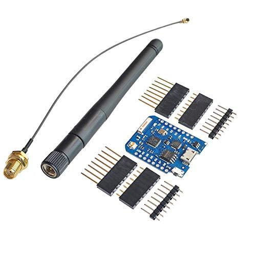 Wemos D1 Mini Pro 16 m Bytes + externer Antennenanschluss NodeMCU ESP8266 ESP-8266EX CP2104, WLAN, Entwicklungsplatte Micro-USB D1 Mini
