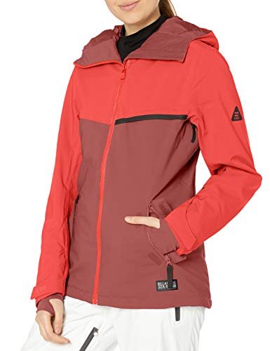 BILLABONG Damen Eclipse Snowboard Jacket Isolierte Jacke, rot, X-Klein