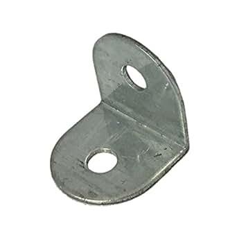Angle Bracket Zinc 19mm x 19mm (Pack of 10) (U-G0553)