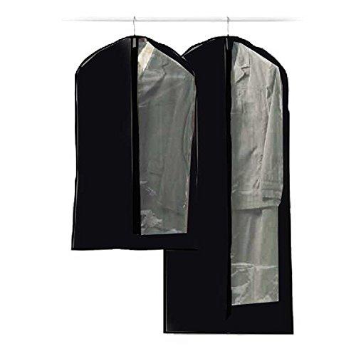 Paris Prix - 2 Housses de Costumes Noir