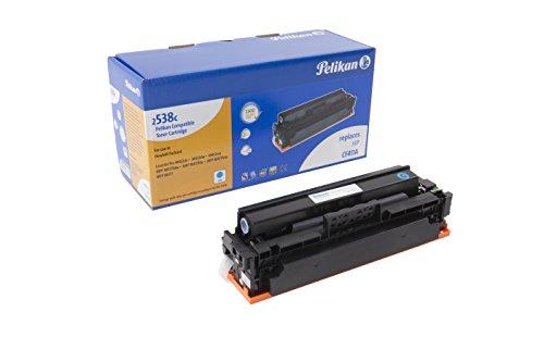 Pelikan Toner ersetzt HP CF411A (passend für Drucker HP CLJ Pro M 452 / MFP M 477A)