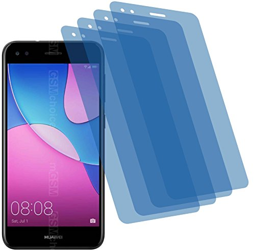 4ProTec 4X Crystal Clear klar Schutzfolie für Huawei P9 Lite Mini Bildschirmschutzfolie Displayschutzfolie Schutzhülle Bildschirmschutz Bildschirmfolie Folie