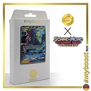Kapu-Riki-GX (Tapu Koko-GX) 47/145 - #myboost X Sonne & Mond 2 Stunde Der Wachter - Box de 10 Cartas Pokémon Aleman