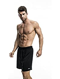 ZAGANO Herren Fitnesshose Shorts Laufhose -atmungsaktiv- 5017