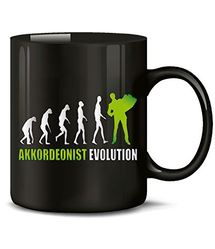 AKKORDEONIST EVOLUTION 4587(Schwarz-Grün)