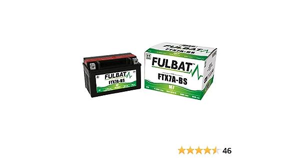 Fulbat Motorrad Batterie Gel Ytx7a Bs Ftx7a Bs 12v 6ah Auto