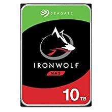 Seagate 10 TB IronWolf NAS 3.5 Inch Hard Drive ST10000VN0008 (SATA 6 Gb/s/256 MB/7200 RPM)