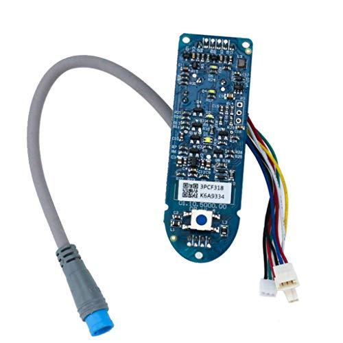 H.eternal für Xiaomi M365 Scooter Bluetooth Dashboard Screen Circuit Board Accessories (Blau) -