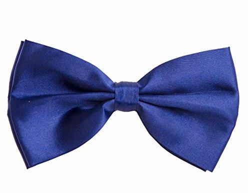 Shenky Fliege Schleife für Anzug Hemd Farbe Navy Größe one size (Tragen Navy Anzug)