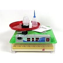 Incubadora BK55Lux AUTOMÁTICO - RUIDO BAJO + bebedero y comedero, 55 huevos, la eclosión de la máquina, criador