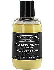 Shampooing Sans Sulfate, Aloé Vera 100ml. Cheveux Colorés, Maintient la Coloration, Protège la Couleur.