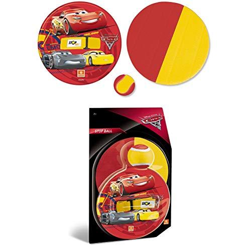 Mondo Disney Cars - Pelota y Disco con Velcro