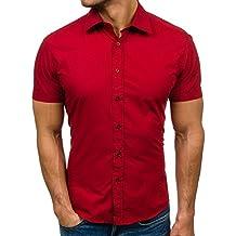 best website 69c97 48c0a Suchergebnis auf Amazon.de für: rotes Kurzarmhemd