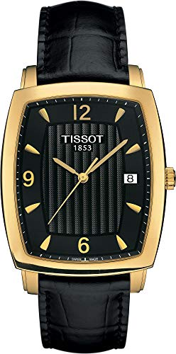Tissot Sculpture Line 18 KT T71.3.622.54 Reloj de Pulsera para Hombres